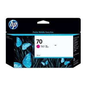 (まとめ) HP70 インクカートリッジ マゼンタ 130ml 顔料系 C9453A 1個 【×3セット】 B07PF8JFRX