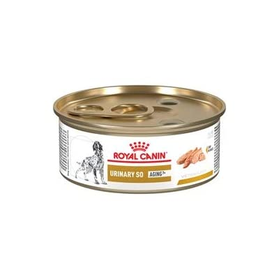 Royal Canin Veterinary Diet Urinary SO Aging 7 Canned Dog Food 24/5.8 oz