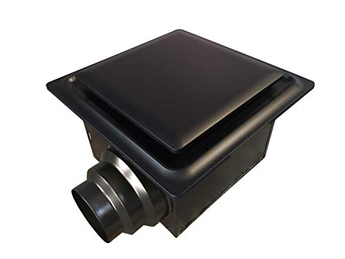 Oil Rubbed Bronze Ventilation Fan - Aero Pure ABF80 G15 OR ABF80G15 Ceiling Mount 80 CFM, Energy Star Certified, Oil Rubbed Bronze Quiet Bathroom Ventilation Fan