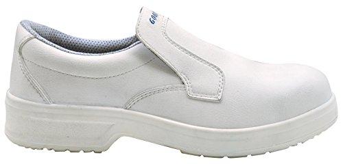 GOODYEAR g1383047C–Scarpe in microfibra, colore: bianco