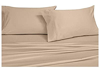 COTTONWALAS Last-Minute Deals on Bed Sheets Queen & King Size Hotel Luxury 600-TC Egyptian Cotton Sheet Set for Queen & King Size Fits Mattress Fully Elastic Deep Pocket (Solid, Color)