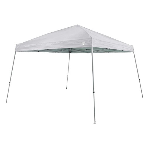 Quest Q64 10 FT. x 10 FT. Slant Leg Instant Up Canopy With Carry Bag (Grey)