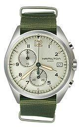 Hamilton Pilot Pioneer Chrono Quartz Men's watch #H76552955