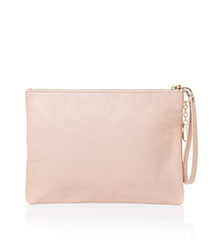 Women's Painted Beige Handle Clutch Valeria Top Bag Starlite Mazza wUvxqxP