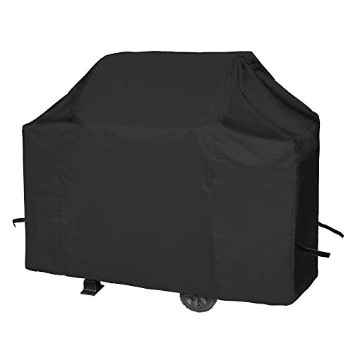 iCOVER Grill Cover 55Inch, Heavy Duty Waterproof Barbecue Gas Grill Covers, UV and Fade Resistant, Mesh Air Vent, Fits Weber Char-Broil Nexgrill and More