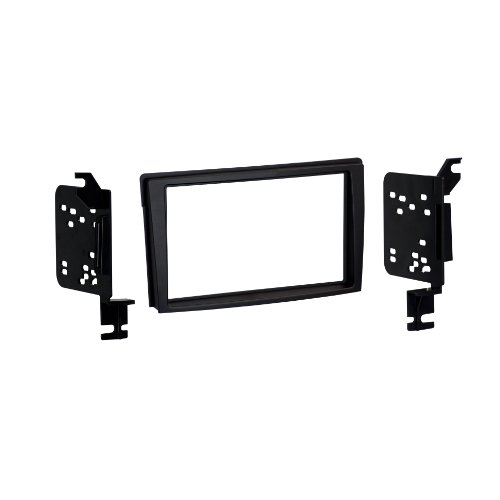 Metra 95-7502B Double DIN Dash Installation Kit for Select 2000-06 Mazda MPV Vehicles (Black) (Select Vehicles Mazda)
