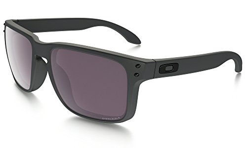 Oakley Holbrook Sunglasses Steel / Prizm Daily Polarized & Cleaning Kit - Polarized Prizm Oakley Holbrook