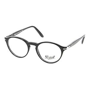 Persol PO3092V Eyeglasses (50 mm, Shiny Black Frame)