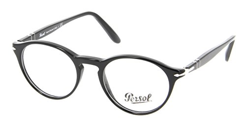 Persol PO3092V Eyeglasses (46 mm, Shiny Black - Persol Eyeglasses