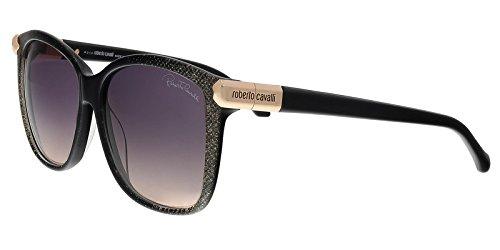 Roberto Cavalli Designer Sunglasses, Black/Gradient Smoke, ()