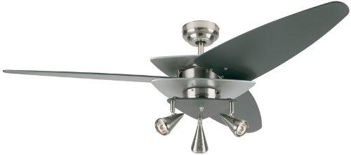 Travel Ceiling Fan : Westinghouse vector elite brushed nickel ″ ceiling