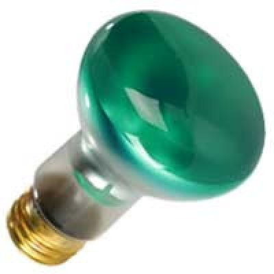 Halco 09141 - R20GRN50 Colored Flood Light Bulb