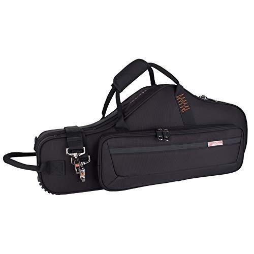 - Protec Alto Saxophone Contoured PRO PAC Case with Flute Pocket, Black, Model PB304CT