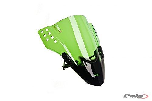 Puig 5881V Green WindShield (New Generation Sport Kawasaki Z1000 14'-17') by Puig