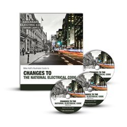 Changes to the National Electrical Code (textbook & DVDs), 2017 - Leesburg Stores