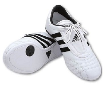 adidas Sm II Training Martial Arts Leather Shoes (White