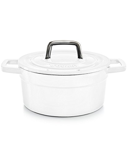 - Martha Stewart Collection Collector's Enameled Cast Iron 2 Qt. Round Casserole