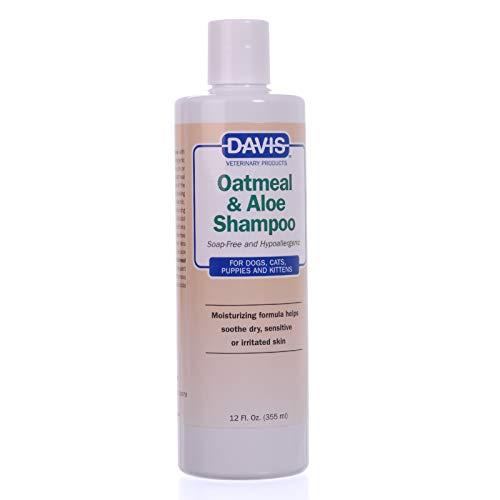Davis Hypoallergenic Shampoo - Davis Oatmeal & Aloe Shampoo, 12 oz