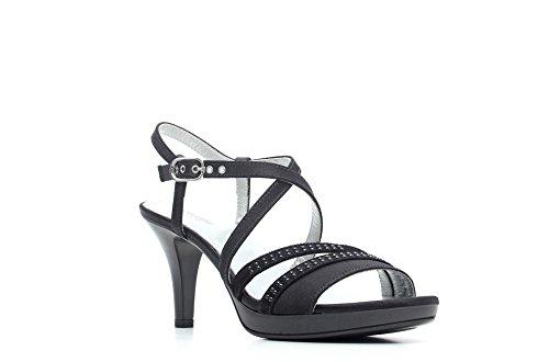 Nero Giardini Sandalo Tacco Alto Donna Pelle Articolo P615810DE 100 Nero P6 15810 DE