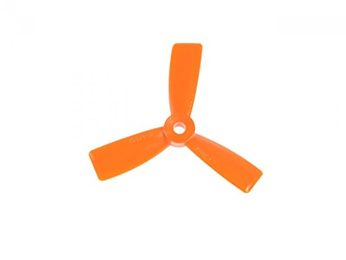 AvatarRC Geniune Dalprop T3045-3 (3×4.5×3) Tri Blade Orange Propellers for 250 Size Quadcopters, Drones, and Multi-rotors – Perfect for 210mm to 300mm frames