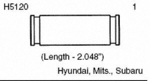 Carlson Quality Brake Parts H5120 Brake Caliper Bushing Kit