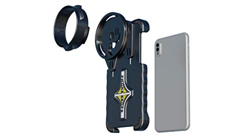 Phone Skope iPhone X/XS Complete Digiscoping Kit, Includes PhoneCase + Eyepiece Adapter + Lens Cloth, Fits Vortex Razor HD/Ultra HD Gen 1&2 Spotting Scope (iPhone XR)