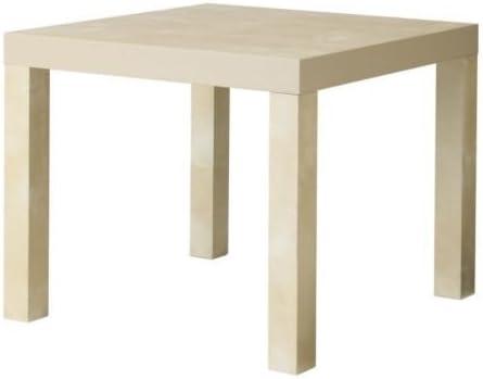 Ikea Falta - Mesa Auxiliar, Efecto Abedul - 55x55 cm: Amazon.es: Hogar
