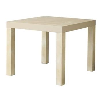 Ikea Falta - Mesa Auxiliar, Efecto Abedul - 55x55 cm