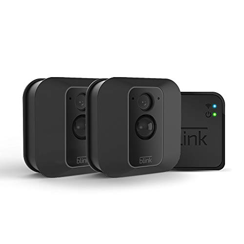 Best Blink XT2 Outdoor/Indoor Smart Security Camera with cloud storage included, 2-way audio, 2-year battery life - 2 camera kit