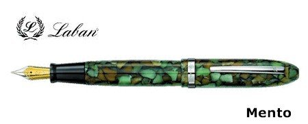 Laban Mento Amazon Forest Fountain Pen-Medium Nib for sale  Delivered anywhere in USA