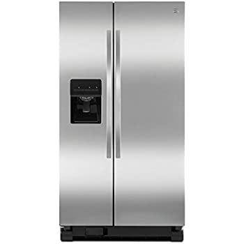kenmore black refrigerator. kenmore 25.4 cu. ft. side-by-side refrigerator, includes delivery and black refrigerator l