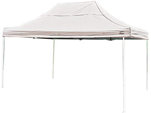 ShelterLogic Easy Set-Up 10 x 20-Feet Straight Leg 50+ UPF P