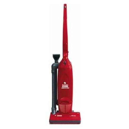 Sanitaire SC785AT Commercial 2 Motor Compact Upright Vacuum Cleaner with Tools and 6.5 Amp Motor, 12'' Cleaning Path