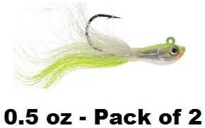 4oz Salt water Bucktail jigs 2 pack