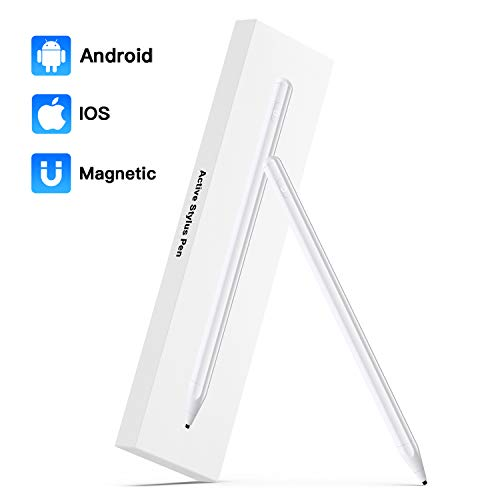 Stylus Pen for Touch Screens,Magnetic Design Capacitive Pen High Sensitivity & Fine Point for Drawing and Writing,Universal Tablet Stylus for iPhone/Ipad and Other Touch Screens