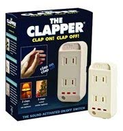 The Clapper Sound Activated Switch 120 V White Ul Boxed -