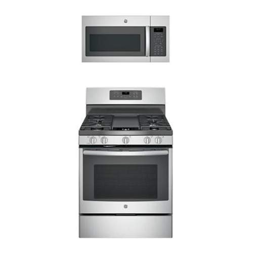 Amazon.com: GE 2 Piece Kitchen Appliances Package with ...