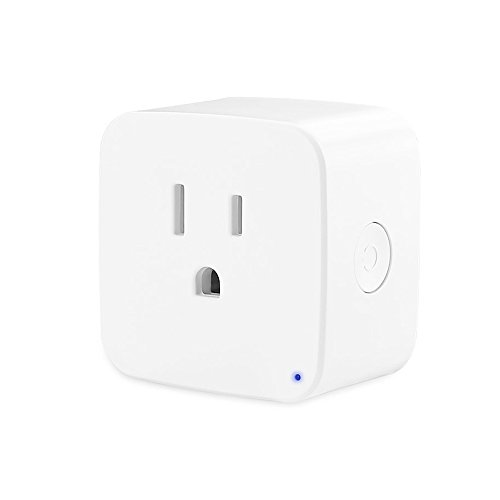 Smart Plug,Foreet Mini Wifi Smart Socket Outlet Works with Google home,Remote Control Devices with Timing Function from Anywhere,Easy to Use,White