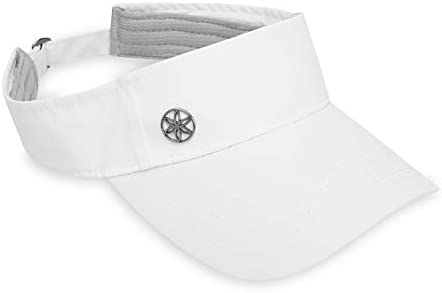 Gaiam Women's Visor Hat – Classic Outdoor Ball Cap, Dry Fit Sweat Headband, Pre-Shaped Bill, Adjustable Size for Running, Baseball, Sun, Hiking, Yoga, Golf, Tennis, Sports, Exercise & Fitness
