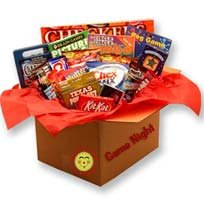 It's Family Game Night Care Package Box Gift Set