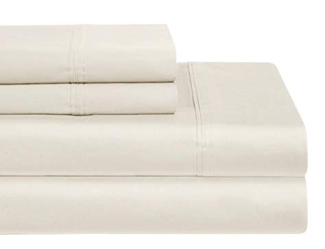 Home Sweet Home Dreams Inc Luxurious Collection 1000 Thread Count 100% Egyptian Cotton Sheet Set(Ivory, Queen)