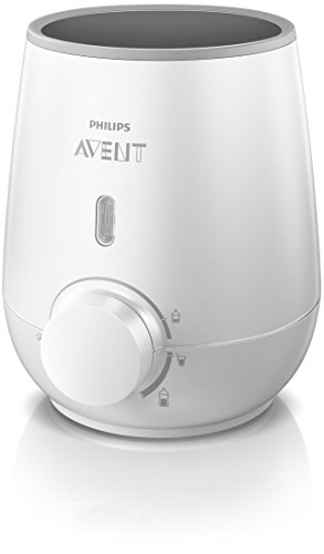 Philips Avent Fast Baby Bottle Warmer, SCF355/00 (Best Rated Bottle Warmer)