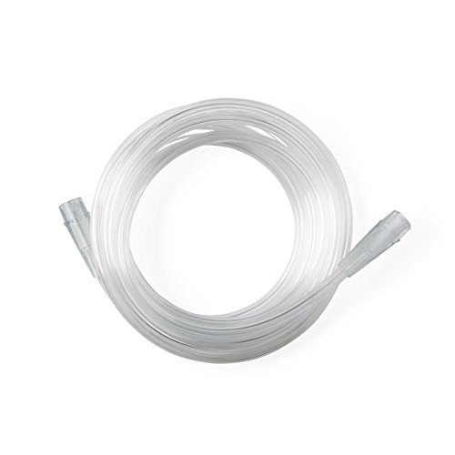 (BAS Crush-Resistant Kink-Resistant Oxygen Tubing - 7 Feet - Clear - For Standard And High Flow Applications (7))