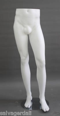 New White Mens Mannequin Form Pant Shorts Display