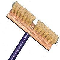 Long Reach Floor & Carpet Scrub Brush with Handle, 48