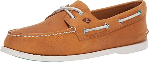Sperry Top-Sider Authentic Original Richtown Boat Shoe Men 11.5 Tan ()