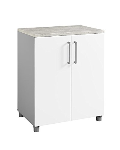 SystemBuild 7471403COM Latitude 2 Door Base Cabinet 2, White