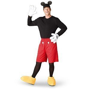 disney store mickey mouse costume for adults. Black Bedroom Furniture Sets. Home Design Ideas