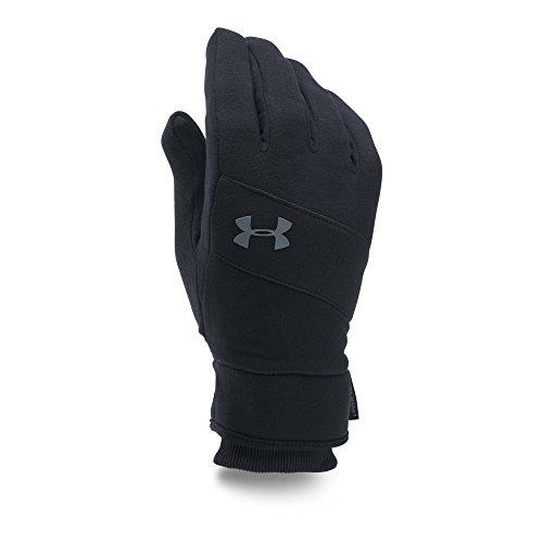 Under Armour Men's Storm ColdGear Infrared Elements Gloves, Black/Black, Large