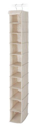 Hanging Shoe Shelves (Whitmor Linen Hanging Shoe Shelves)